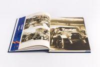 Оформление блока книги о предприятии По дороге истории АМО ЗИЛ
