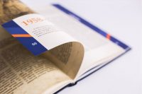 Оформление юбилейной книги о предприятии По дороге истории АМО ЗИЛ