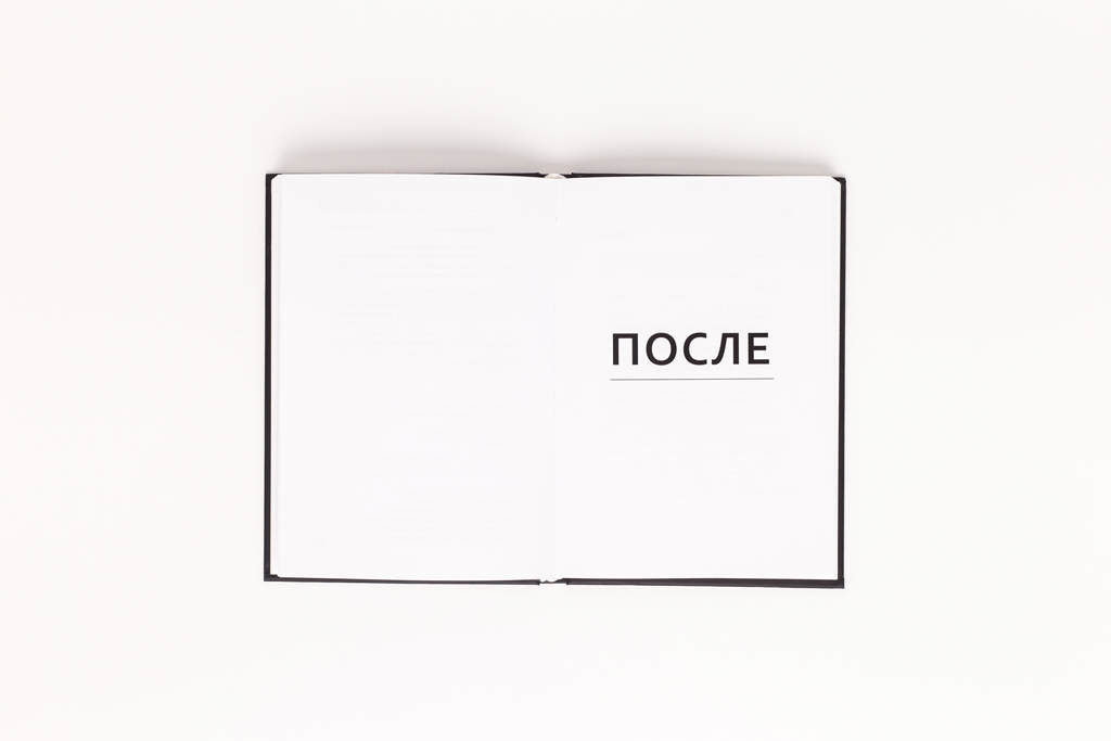 Оформление шмуцтитула книги Nota Bene автора Промч