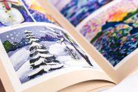 Иллюстрирование книг красочными изображениями