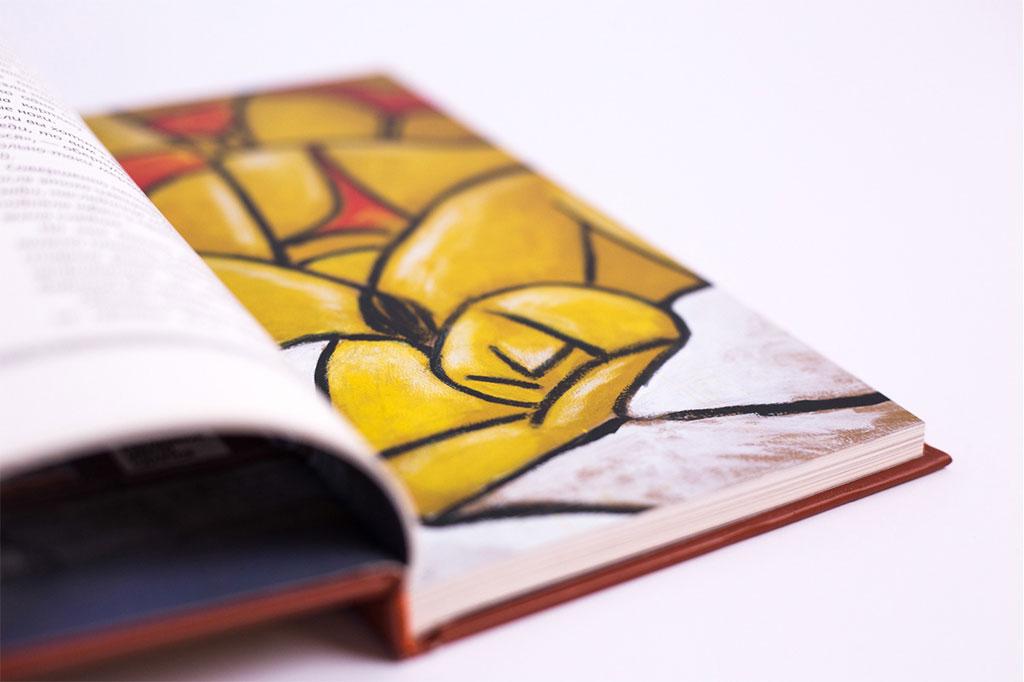Верстка иллюстраций книги Записки мёртвого рекламиста