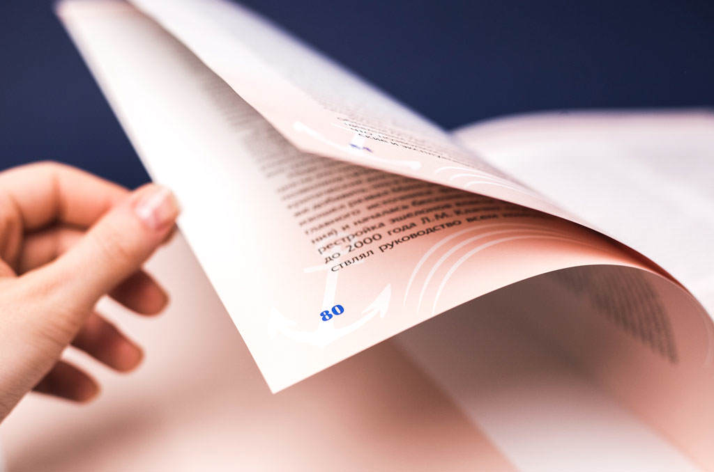 Элементы оформления книги «Курс 30 лет»