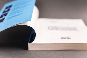 Цветная печать: мягкий переплет с клапаном