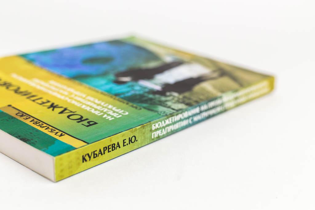 Корешок книги Бюджетирование на проектно-ориентированном предприятии с матричной структурой управления: организационно-методические основы