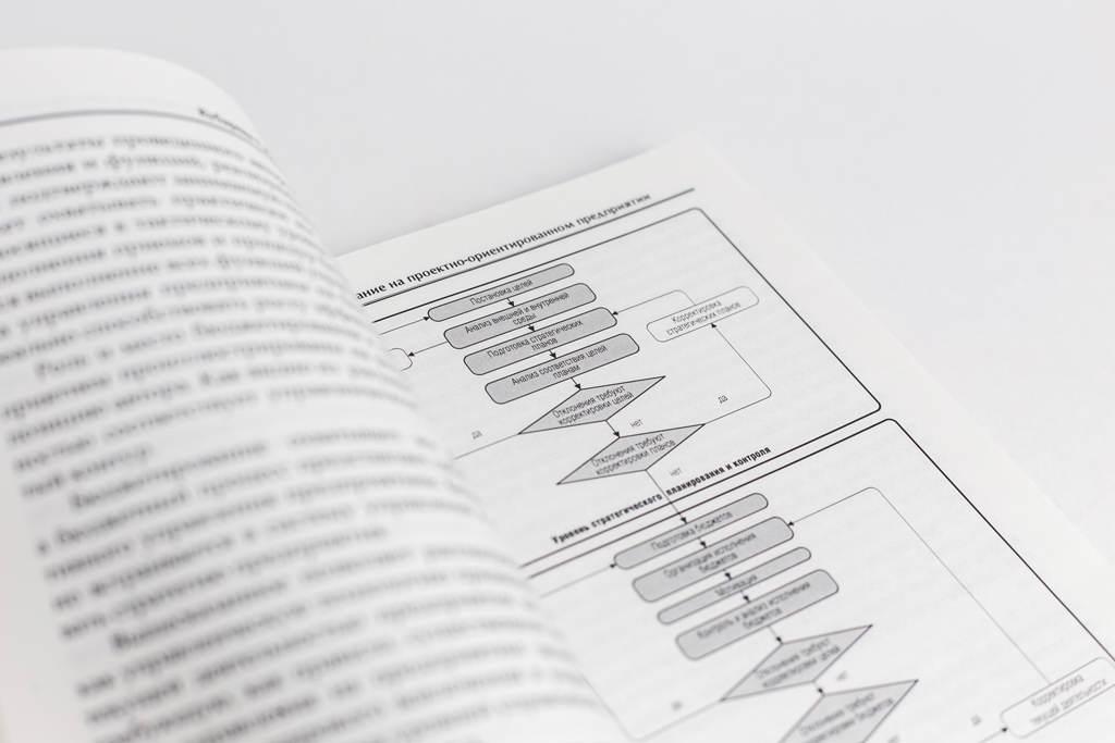 Верстка схем книги Бюджетирование на проектно-ориентированном предприятии с матричной структурой управления: организационно-методические основы
