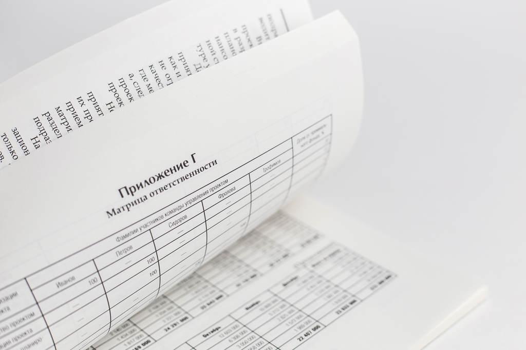 Верстка приложений монографии Бюджетирование на проектно-ориентированном предприятии с матричной структурой управления: организационно-методические основы