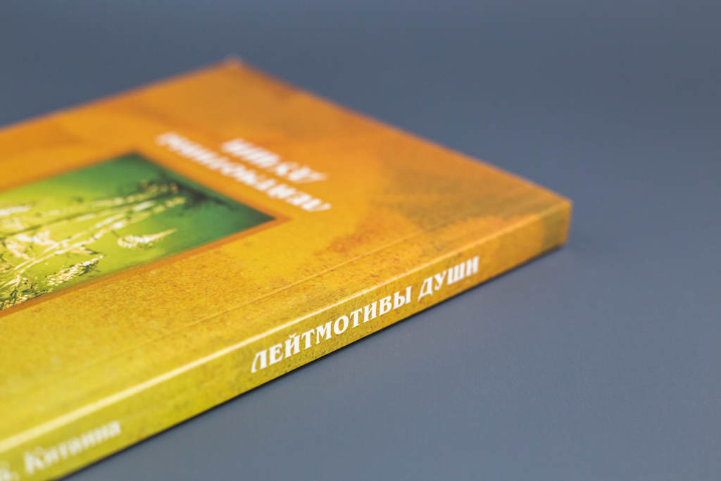 Оформление обложки книги И. Китаина Лейтмотивы души