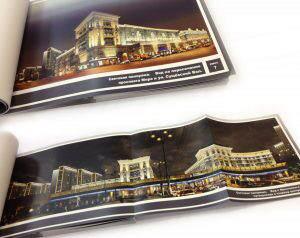 Печать альбома в типографии Москвы ДПК Пресс