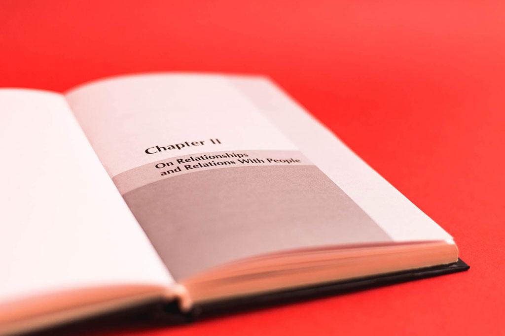 Дизайн шмуцтитула книги на английском языке Пособие по освоению жизненной мудрости