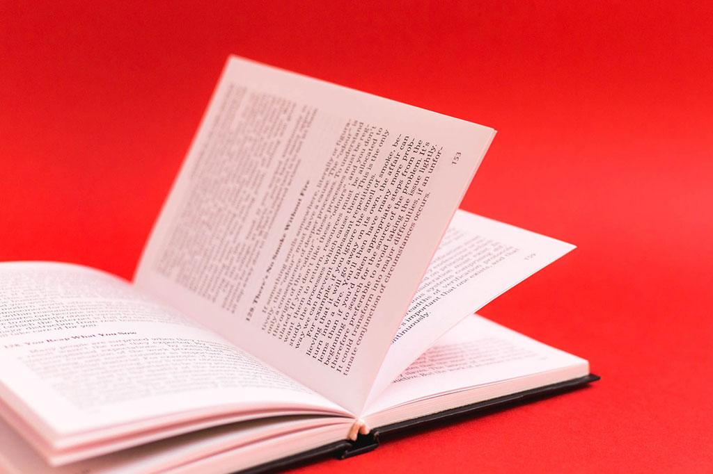Верстка книги на английском языке