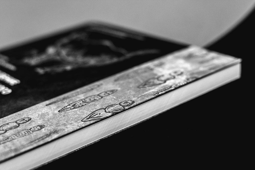 Торец книги Кочергин В. «Происхождение монументального зодчества»