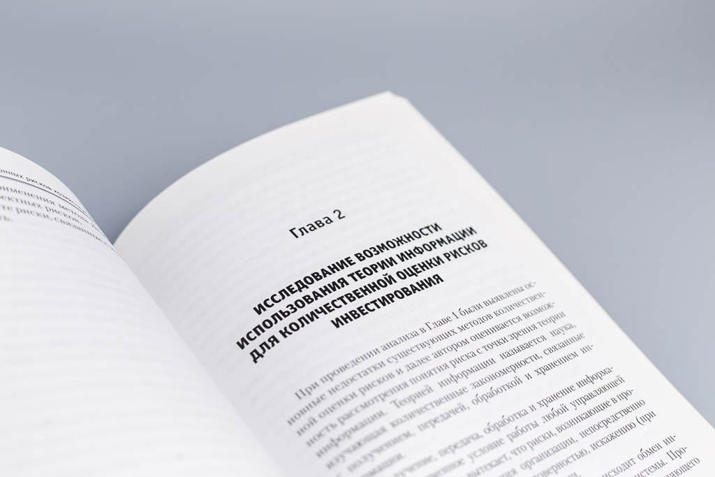 Дизайн начала главы книги Анализ и оценка инвестиционных рисков хозяйствующих субъектов Лепешкина М.Н.