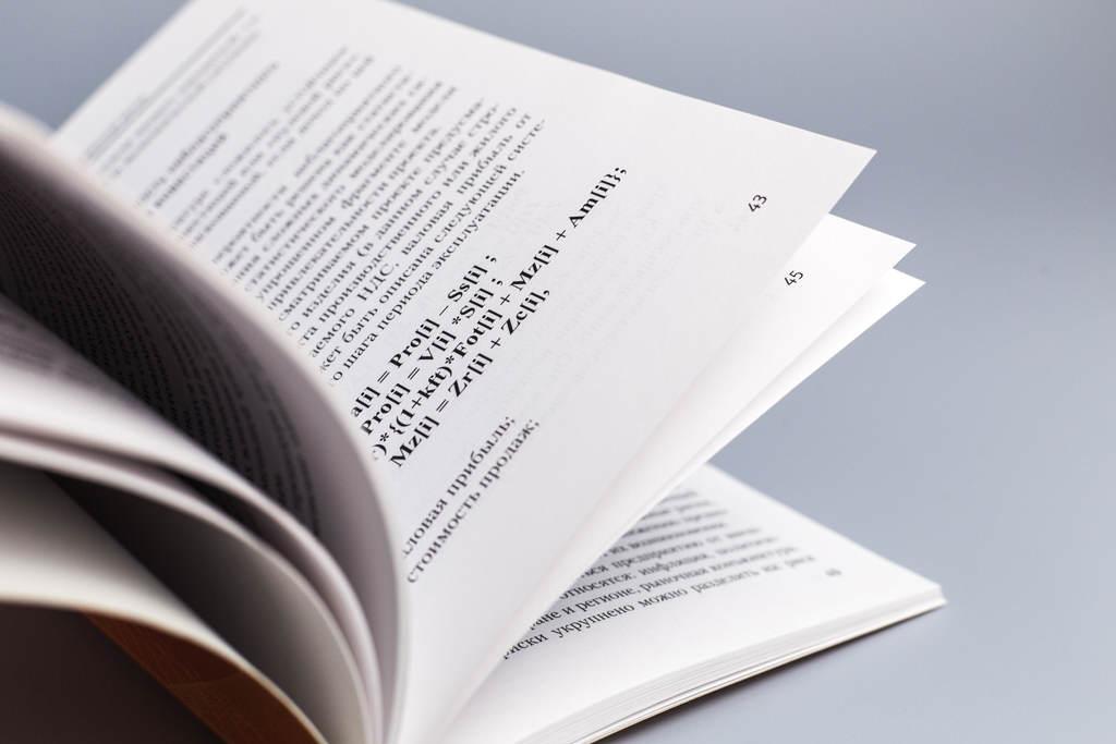 Верстка разворота монографии Анализ и оценка инвестиционных рисков хозяйствующих субъектов Лепешкина М.Н.