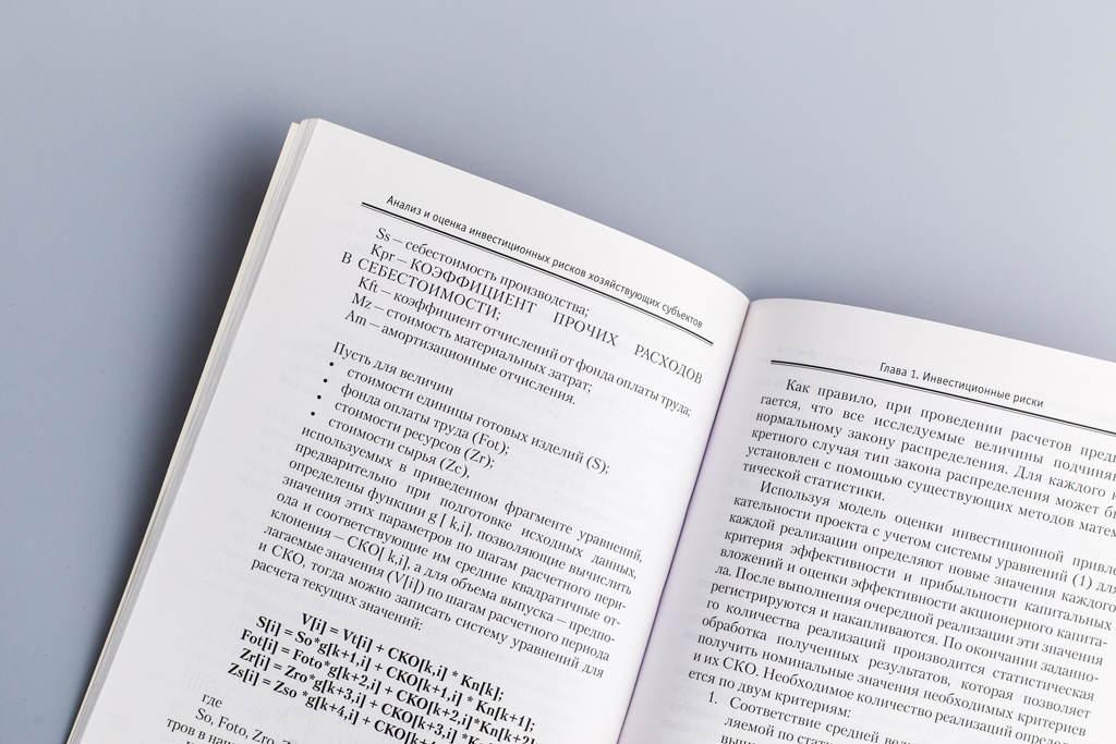 Верстка книги Анализ и оценка инвестиционных рисков хозяйствующих субъектов Лепешкина М.Н.