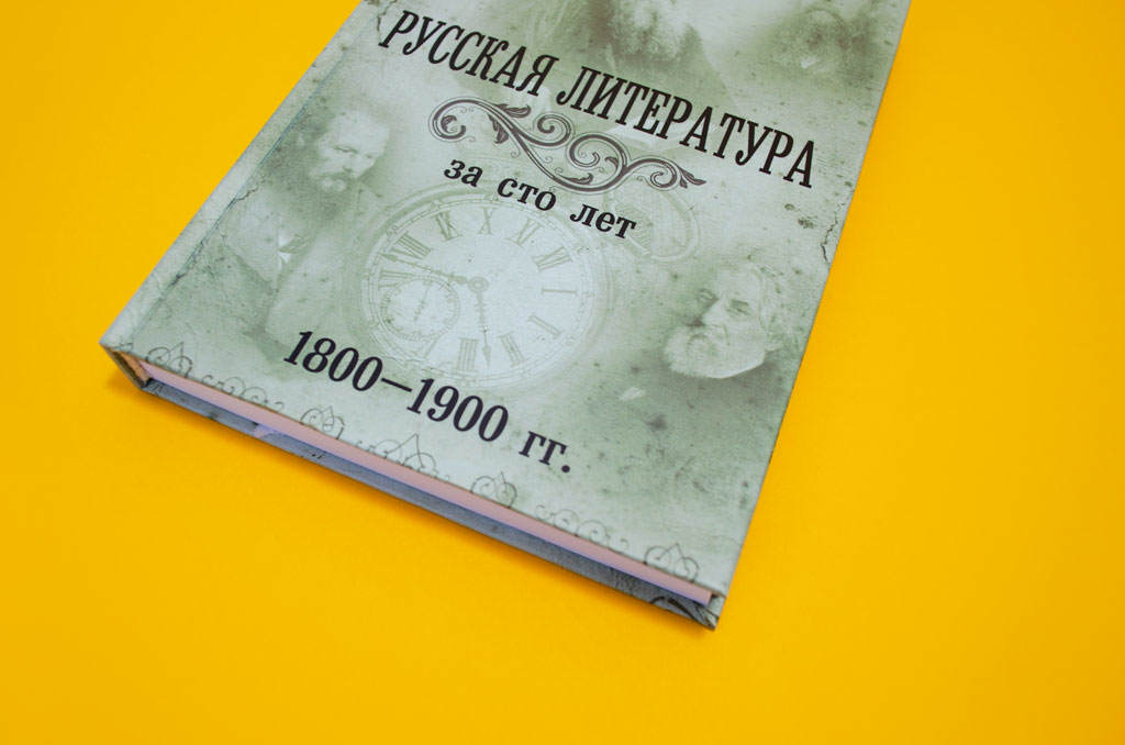 """Книга автора О.Г. Егоров """"Русская литература за сто лет 1800–1900"""""""