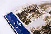 Верстка блока книги с фотографиями По дороге истории АМО ЗИЛ