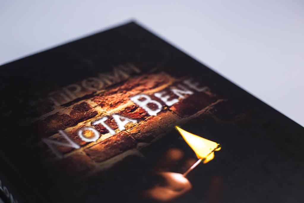 Дизайн обложки книги Nota Bene автора Промч
