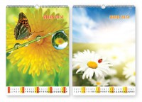 Изготовление и печать настенных календарей