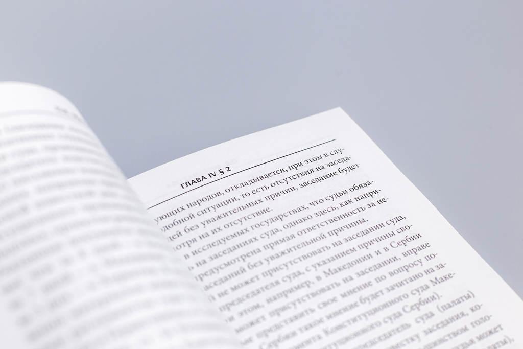 Верстка книги Конституционный контроль в странах бывшей ЮгославииКонституционный контроль в странах бывшей Югославии