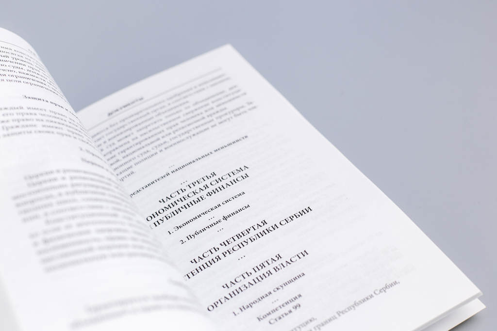 Верстка разворота монографии Конституционный контроль в странах бывшей ЮгославииКонституционный контроль в странах бывшей Югославии