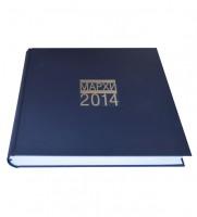 Переплет годового отчета МАРХИ 2014