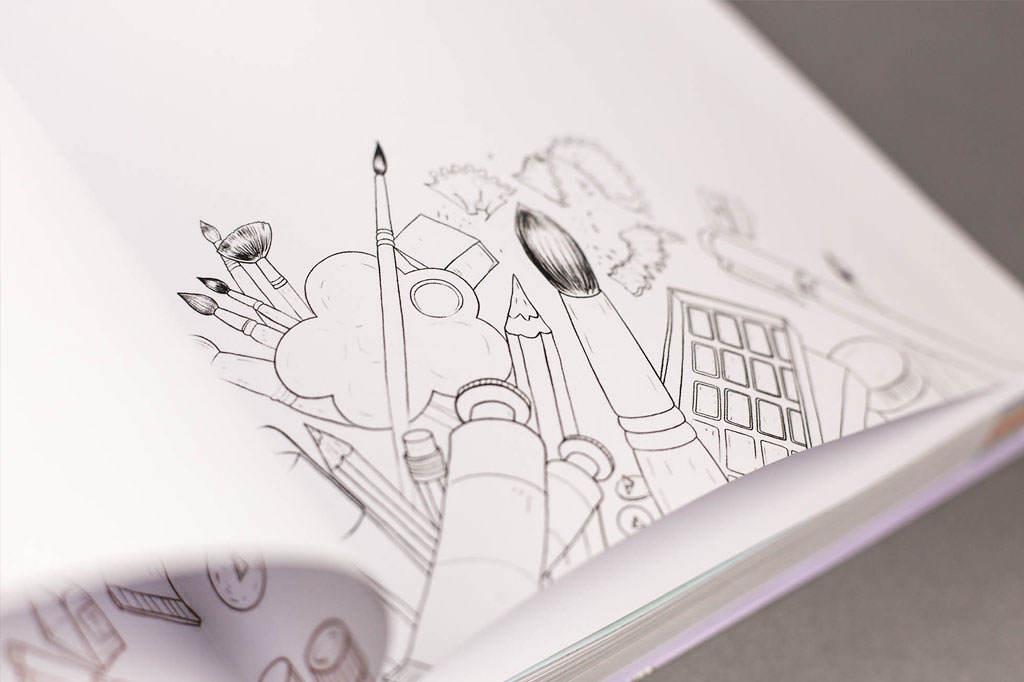 Графика в книге Иллюстрация в дизайне