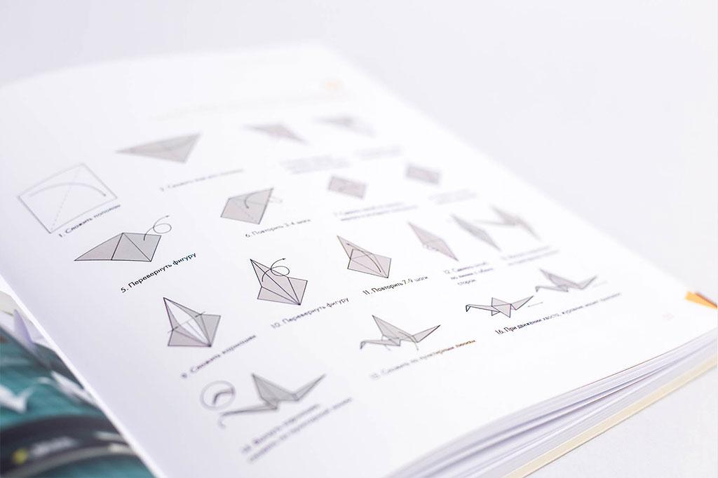 Верстка работ дизайнеров - Бумагопластика