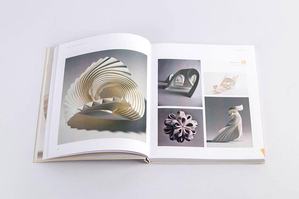Оформление книги для дизайнеров Бумагопластика автор Салтыкова Г.М.