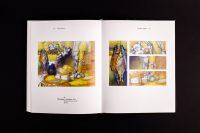 Композиция работ художника в книге - Валерий Лебедко - художник педагог ученый