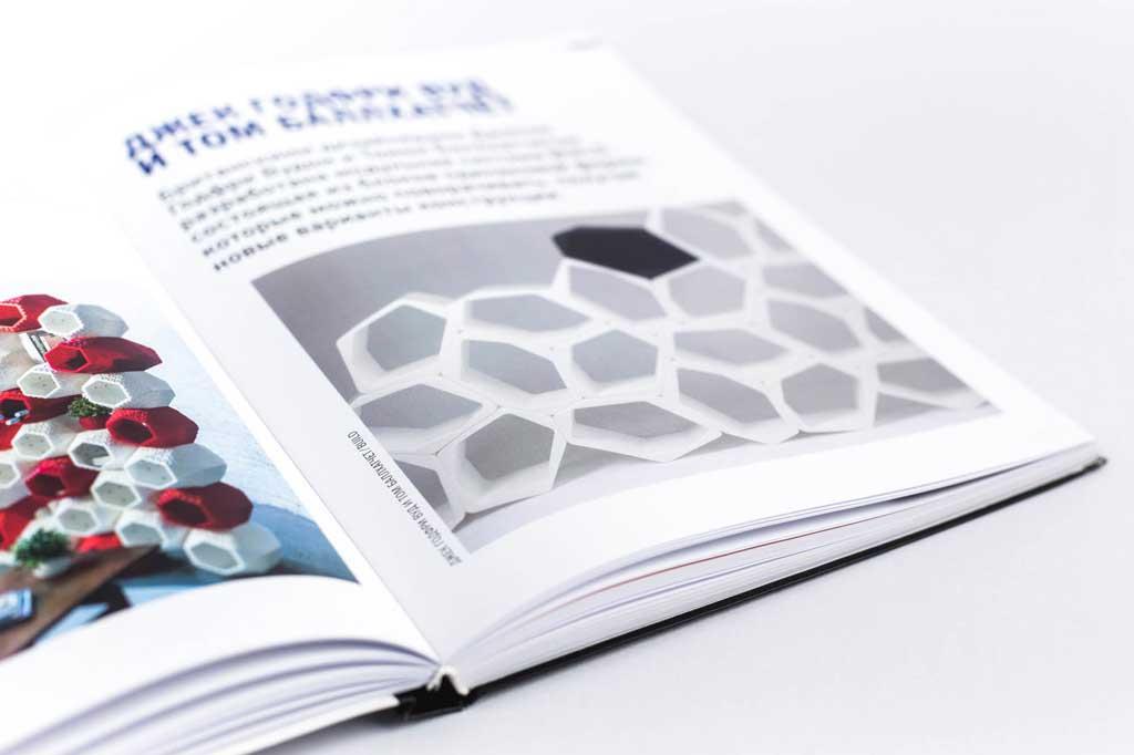Дизайн разворота книги Проект Правило Парадокс Салтыкова Г.М.