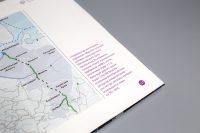 Дизайн цветных выносов в книге Артерии Арктики