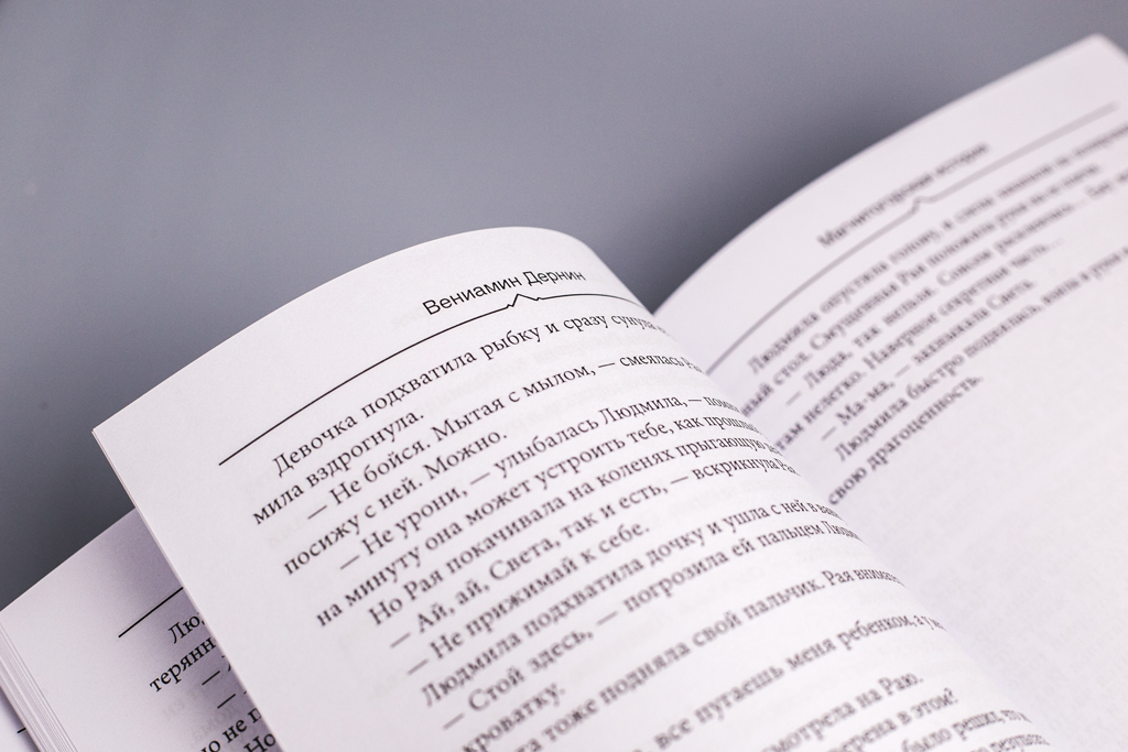 Оформление блока книги Магнитогорская история автора Дернин В.М.
