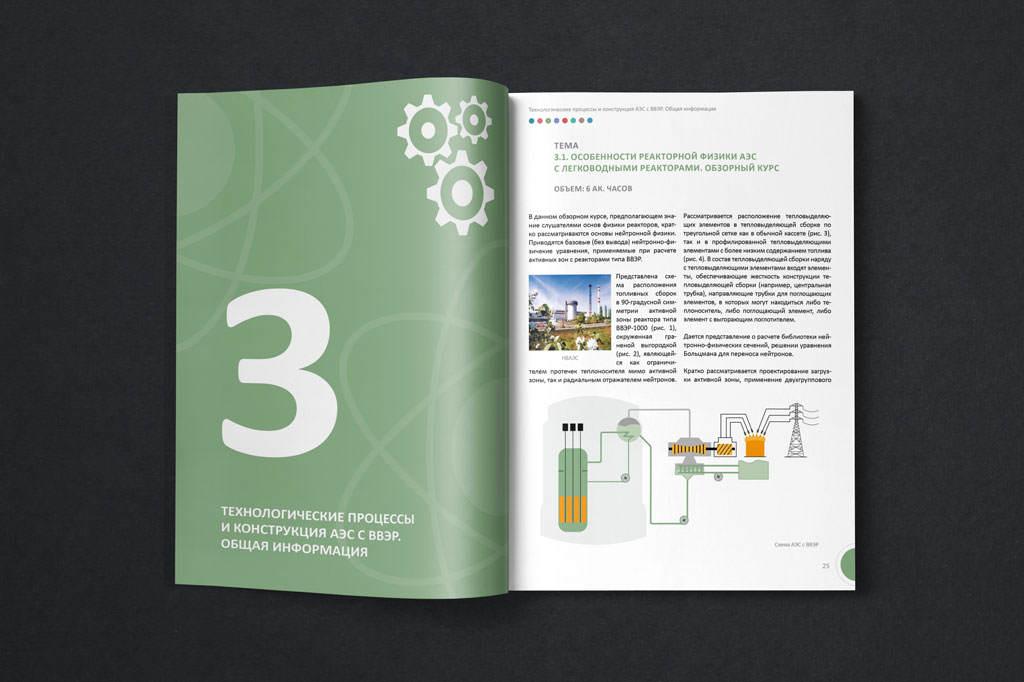 Дизайн разворота каталога для ВО Безопасность