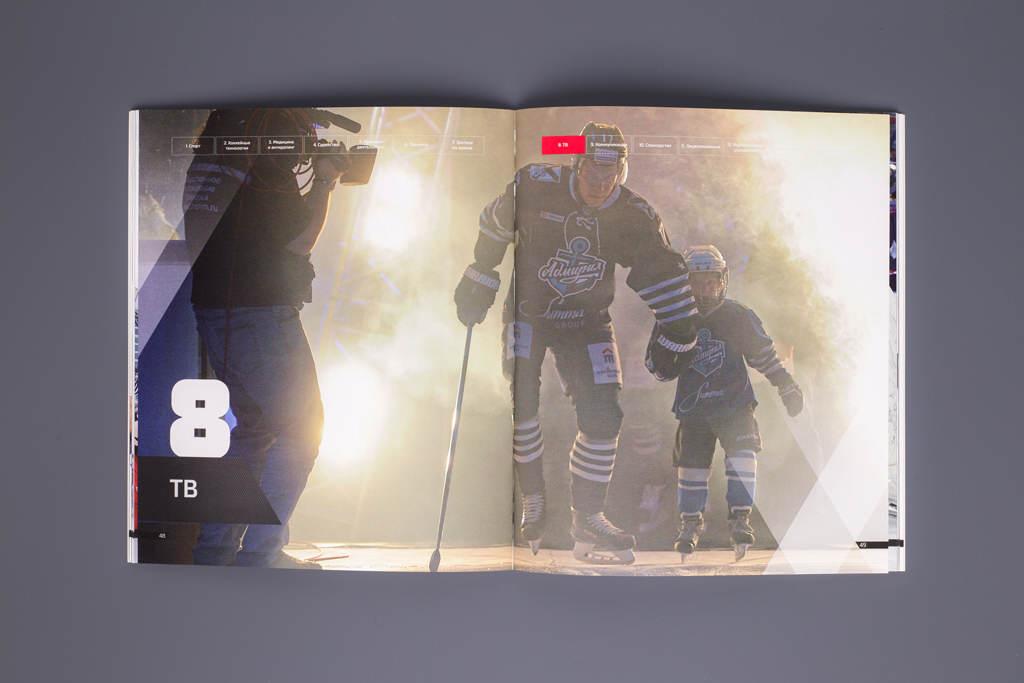 Дизайн отчета о реализации стратегии КХЛ 2015–1018