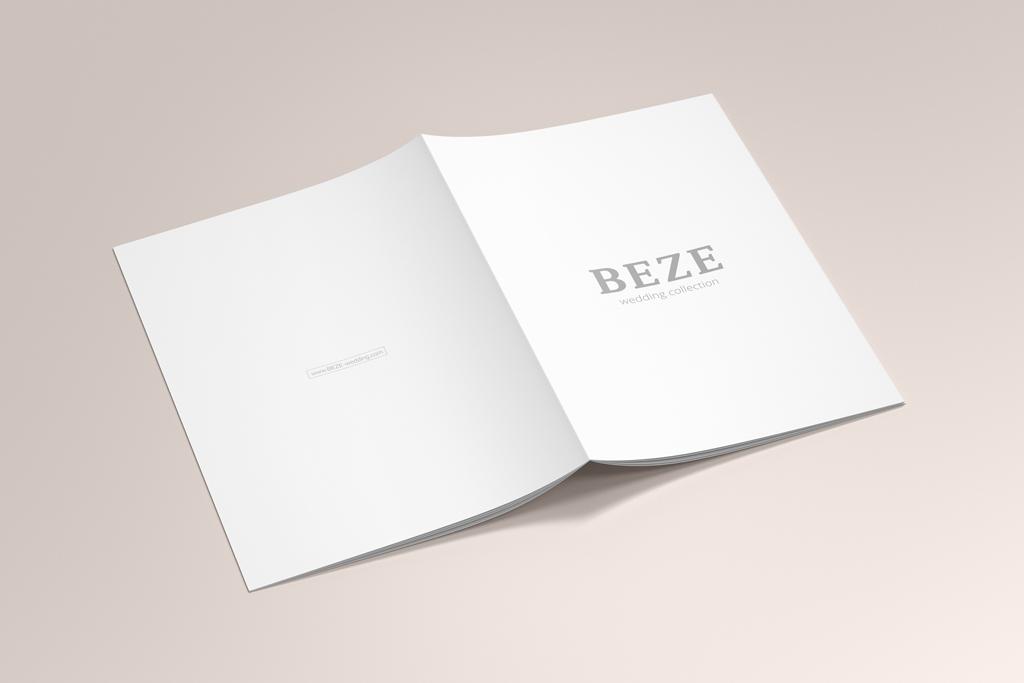 Дизайн обложки каталога продукции свадебных платьев