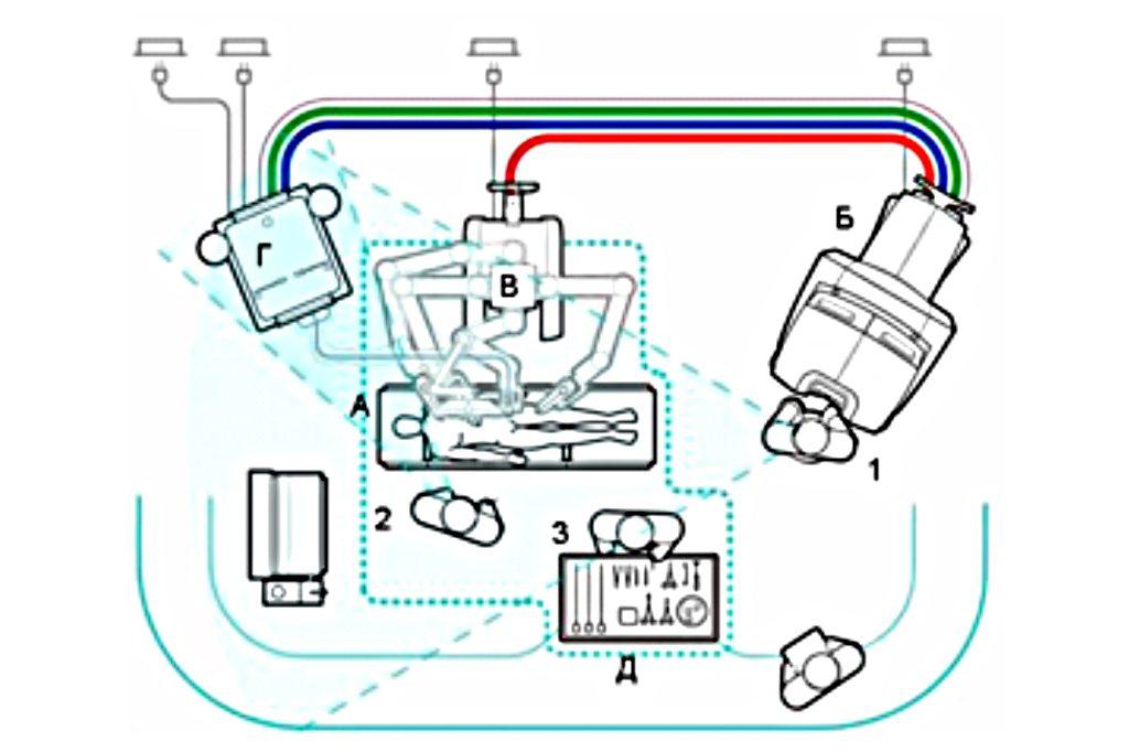 Схема до отрисовки в векторе