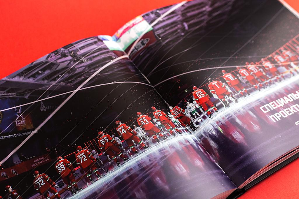 Фотография на разворот книги Итоги сезона 2018/2019