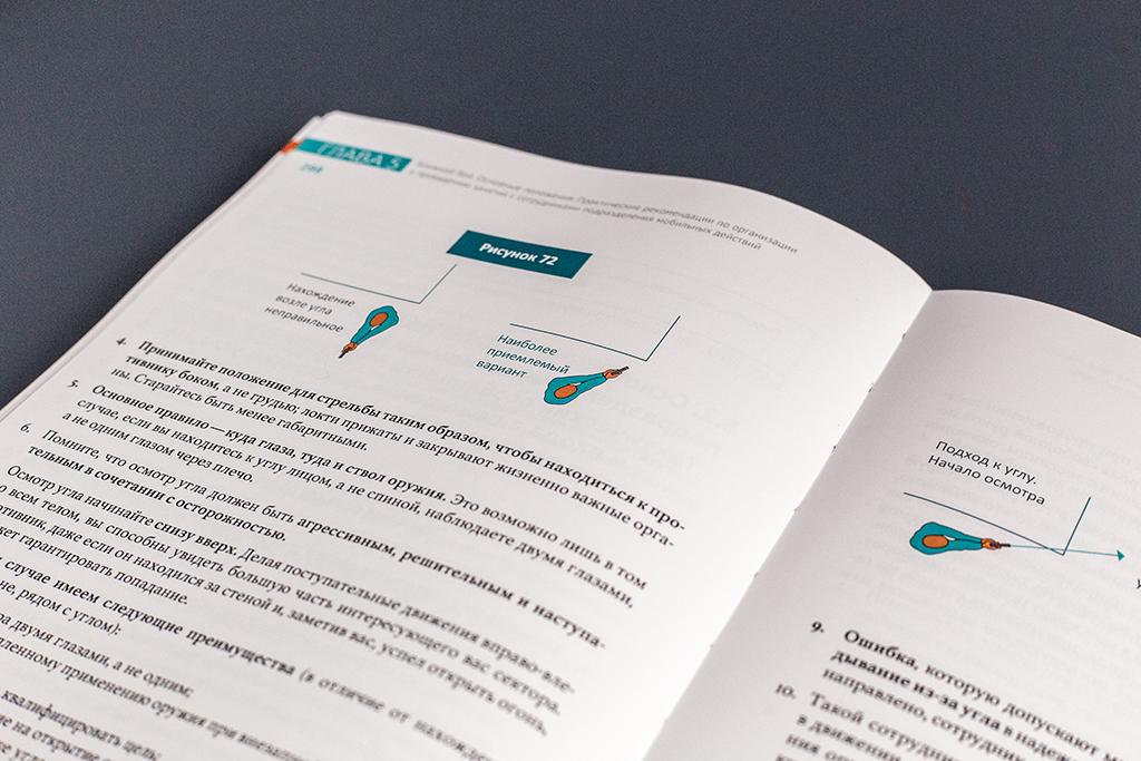 Векторные иллюстрации книги Огневая подготовка подразделений мобильных действий