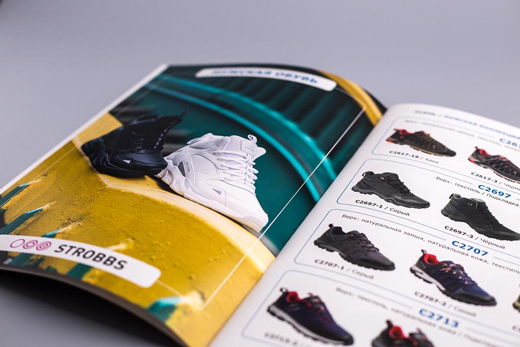 Дазвйн шмуцтитула для мужского раздела каталога обуви