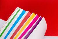 Цветные листы шмуцтитулов книги Свой путь: от проблемы к решению