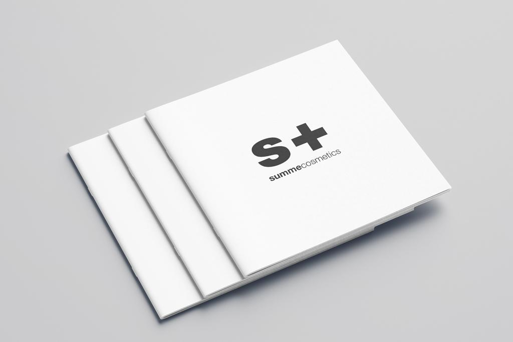 Разработка концепции, дизайн и верстка каталога для косметической компании