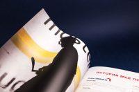 Элементы оформления книги к юбилею Молодежная хоккейная лига 2009–2019