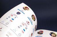 Дизайн страниц юбилейной книги Молодежная хоккейная лига 2009–2019