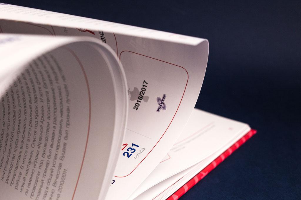 Страницы юбилейной книги Молодежная хоккейная лига 2009–2019