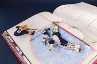 Дизайн книги к юбилею Молодежная хоккейная лига 2009–2019