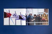 Разворот альбома компании Росморпорт о ледоколе Виктор Черномырдин
