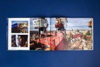 Верстка презентационного альбома для компании Росморпорт о ледоколе Виктор Черномырдин
