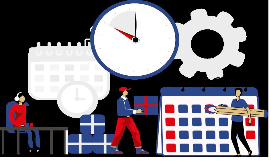 Четкое планирование и строгий контроль всех этапов производства
