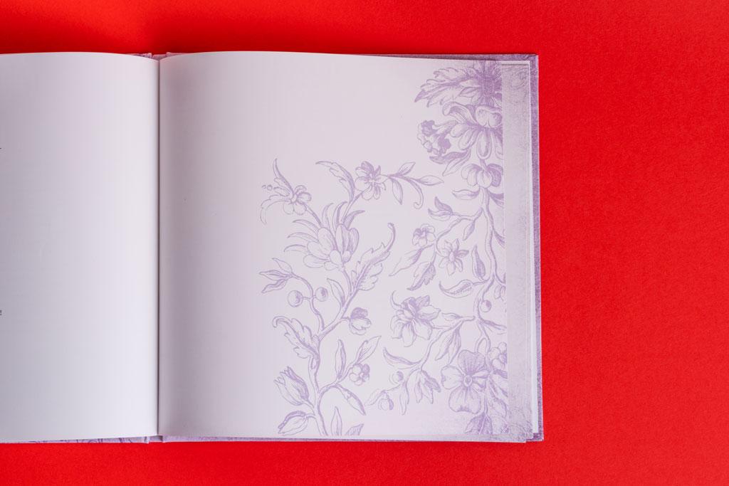 Дизайн блока книги стихов в винтажном стиле Почитайте мои стихи