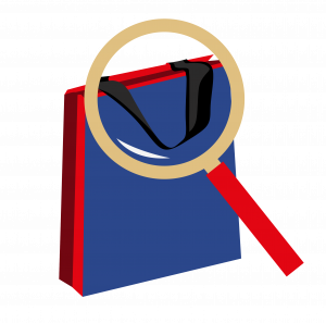 Вид ручек для бумажного пакета